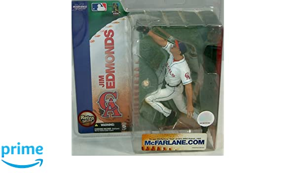 Amazon.com: McFarlane Sportspicks: MLB Jim Edmonds Action Figure Series 7: Toys & Games