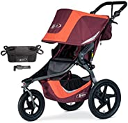 BOB Revolution Flex 3.0 Jogging Stroller Bundle, Sedona Orange