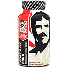 Old School Labs Vintage Burn Thermogenic Fat Burner Weight Loss Supplement - 120 Natural Veggie Pills