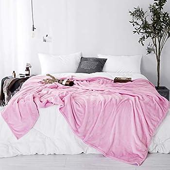Amazon Com Sleepwish Pink Flannel Blanket King Size