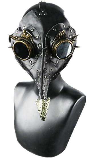 Shu li~Hombre, Mujeres, Punk Europeo y Americano, Mascarada Halloween, Máscara