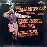 STANLEY BLACK MUSIC FROM FIDDLER ON THE ROOF vinyl record