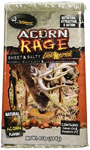 Wildgame Innovations Acorn Rage Salt Block Deer Attractant (Acorn Block)