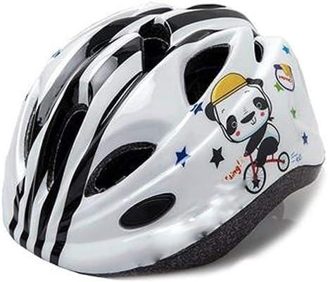 WNLBLB Casco de Bicicleta para niños con Luces Puede ser ...