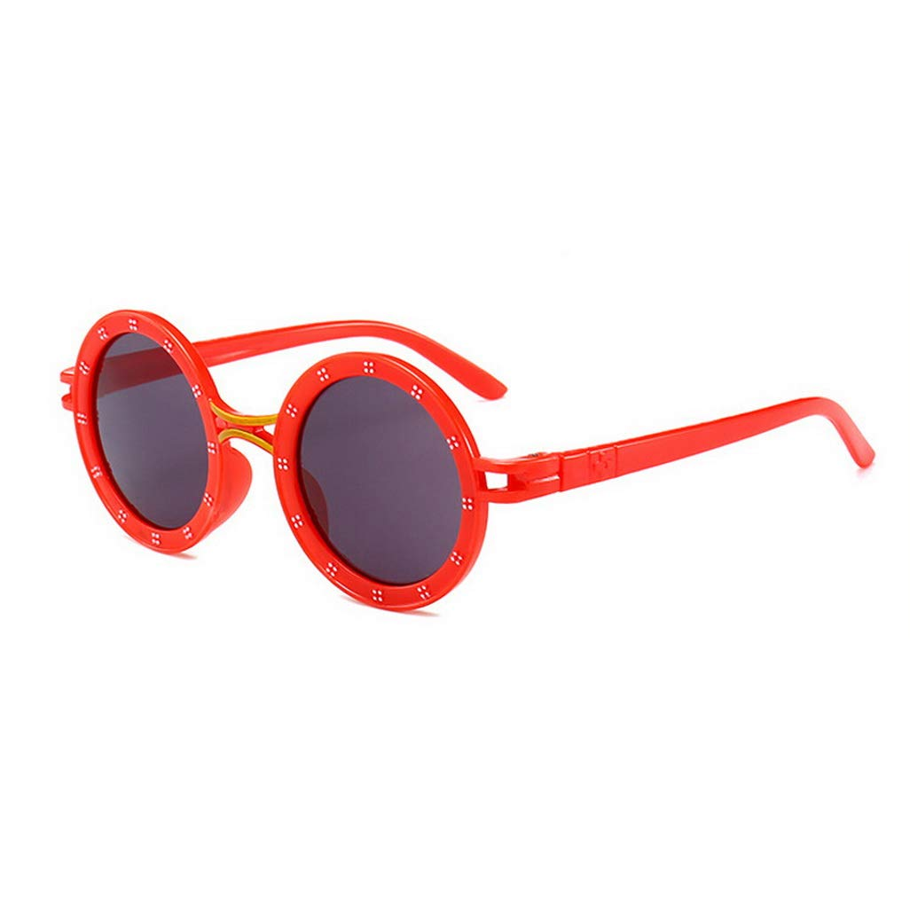 Amazon.com: Baby Kids Round Vintage Cute Sunglasses Shades ...
