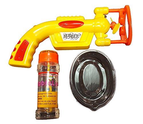 UPC 863166000440, BubbleLick Edible Bubble Kit, Yellow Bubble Gun