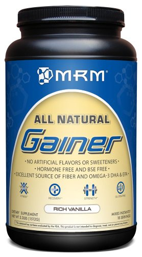 MRM All Natural Gainer Vanilla product image