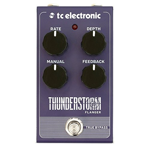tc electronic Thunderstorm Flanger Vintage Style Pedal with All-Analog...