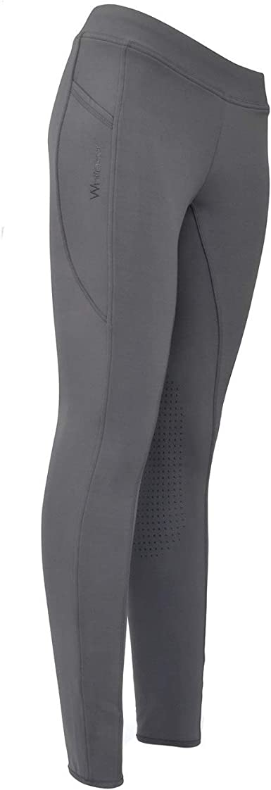 Whitaker Ladies Dovedale Knitted Stretch Comfort Horse Riding Tights Joggers