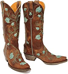 Old Gringo Womens Abby Rose Cowgirl Boot Snip Toe