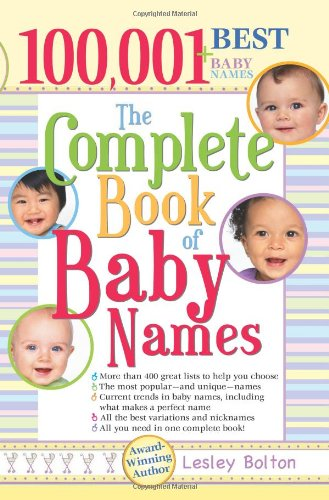 The Complete Book of Baby Names PDF
