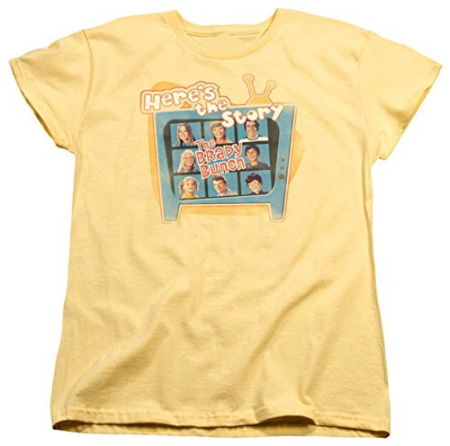 Womens: Brady Bunch - Here's The Story Ladies T-Shirt Size L ()