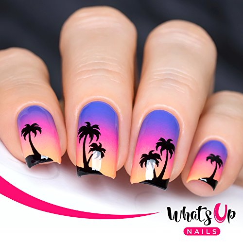 Check expert advices for palm tree nail stickers?