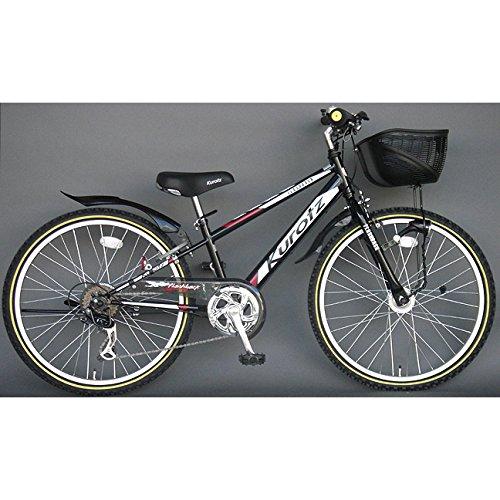 クロッツ Kurotz 子供用自転車 フラッシュバックSTD FBR266STD ジェットブラック B00ADFRV9A