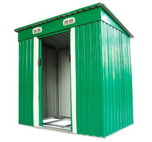 2 opinioni per Outsunny–Casetta/armadio da giardino, 1,95m², Verde