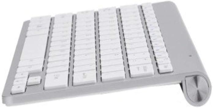 GeWu888 Teclado Mini Teclado inalámbrico Multifuncional ...