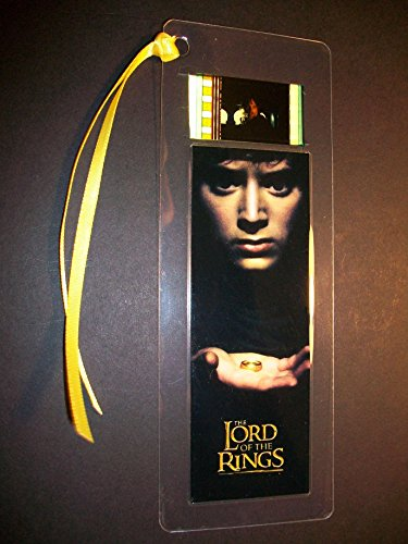 LORD OF THE RINGS FELLOWSHIP movie film cell bookmark memorabilia collectible -