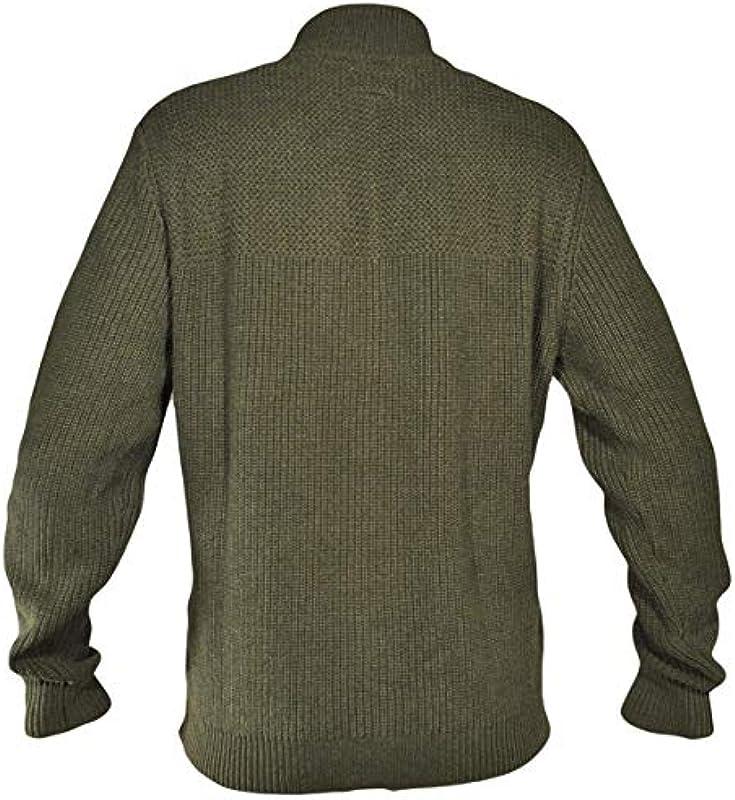 Wrangler bluza męska Full Zip Knit (Army Green) s.XXL: Odzież