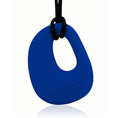 1 X Organic Pendant - Silicone Necklace (Teething/Nursing) (Blueberry) : Baby Teether Toys : Baby