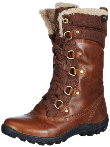 Timberland Women's MT Hope Mid L/F Waterproof Boot,Tobacco Forty Leather,6 M US