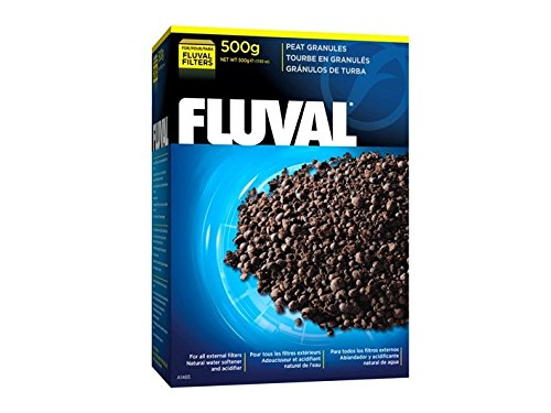 Water Softener Pillow - Fluval Peat Granules, 500 Gram (17.6 oz)