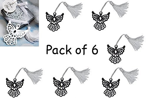 - Gift Boxed Book Lovers Collection Angel Bookmark (Set of 6)