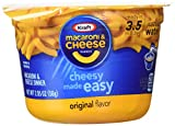kraft cheese and macaroni - KRAFT Macaroni & Cheese Dinner Cup Easy Mac Original, 58 grams Cups (Pack of 12)