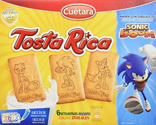 Galletas Cuetara Tosta RIcas Familiar 860gr