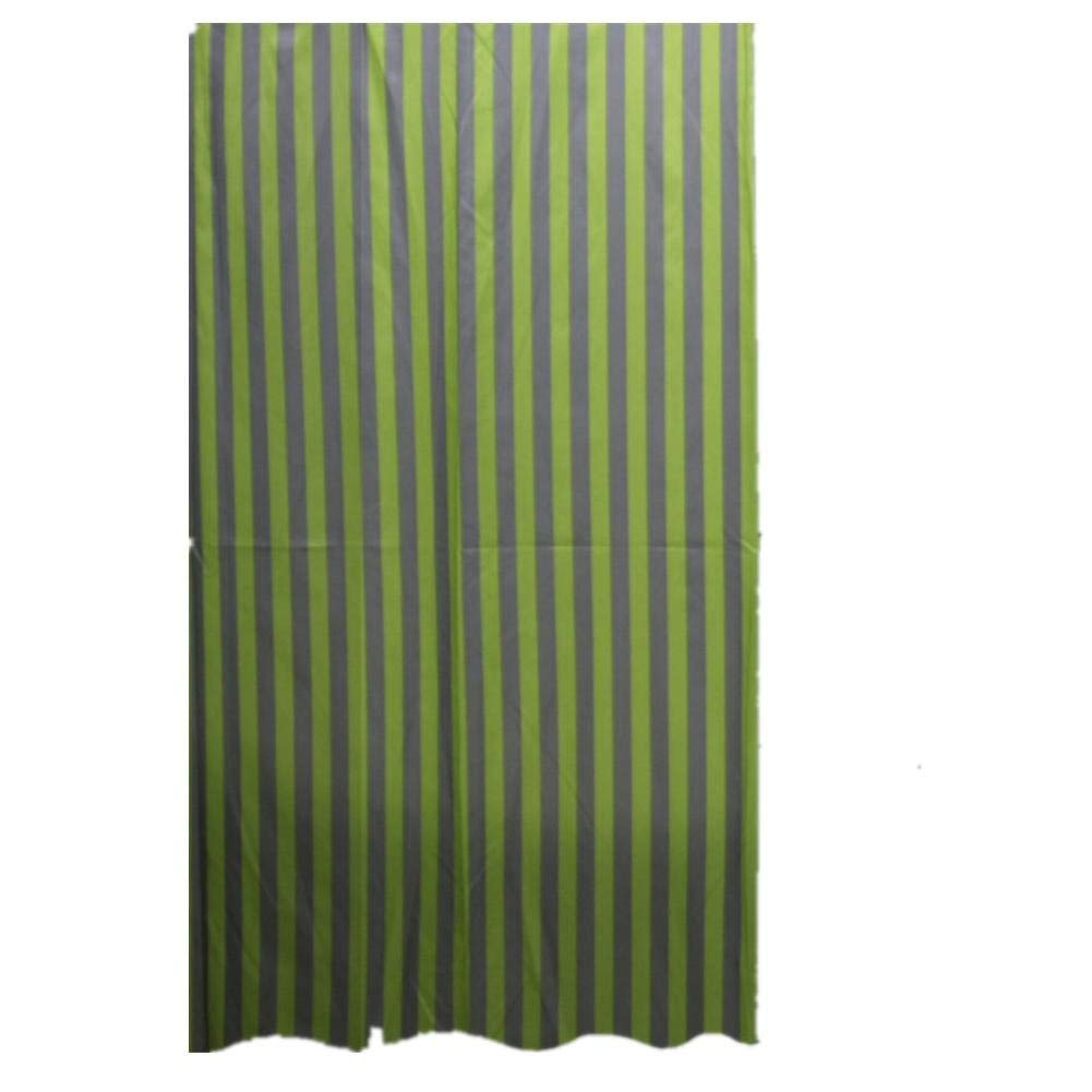 JaHGDU Shower Curtain 1pcs Shower Curtain Polyester Material Stripe Mildewproof Thickened Hotel Toilet Shade Super Quality Opaque Bathroom Amenities