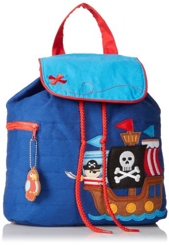 [Stephen Joseph Quilted Backpack, Pirate] (Pirate Clothing And Accessories)