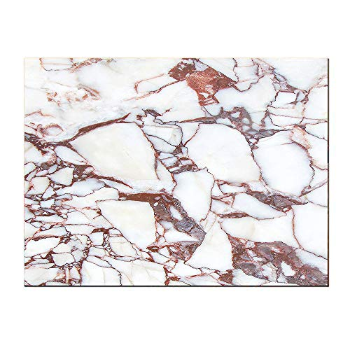 SATVSHOP Painting canvas-24Lx24W-Dolomite ocks Pattern with Characteristic Swirls and Cracked Lin Beige Brown.Self-Adhesive backplane/Detachable Modern Decorative Art.