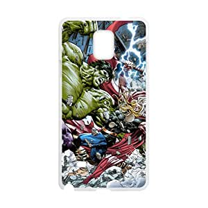 Green Giant And Raytheon White Phone Case for SAMSUNG NOTE4