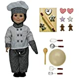 Doll Clothes Outfit and 17 Pc Kitchen Tool and