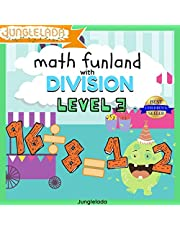 Math Funland with Division: Level 3: Have Fun Learning Division Tables 8-12! An Interactive Audio Learning Book for Kids! Great for 4th, 5th, & 6th Grade! Bonus Educational Gift Inside!