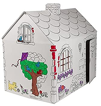 my very own house coloring playhouse cottage