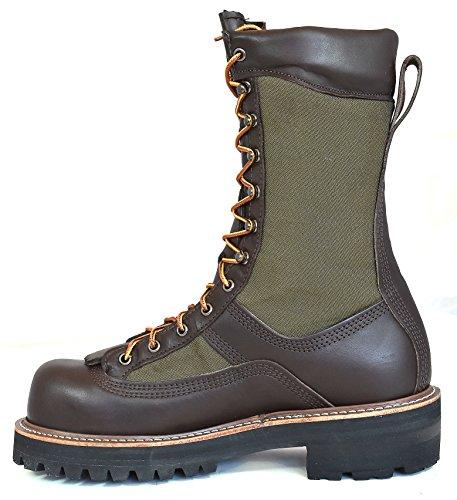 Hoffman Boots Menns 10 Strømnett Brunt ...