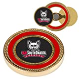 South Dakota Coyotes Challenge Coin with Ball Markers (Set of 2)