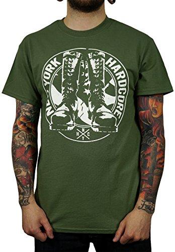 "New York Hardcore ""Boot Logo"" T-Shirt army"