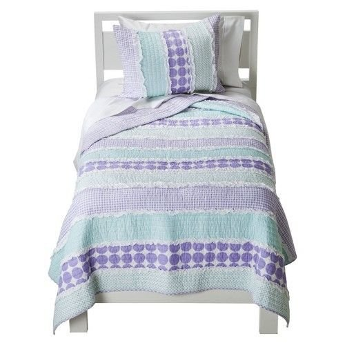 - Levtex home Maddie Prple/TRQ Quilt, Full/Queen