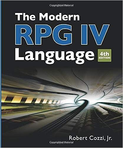 The Modern RPG IV Language: 9781583470640: Computer Science Books