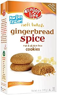 product image for Enjoy Life Soft Baked Gingerbread Spice Cookies, 6 Ounce (Pack of 6)