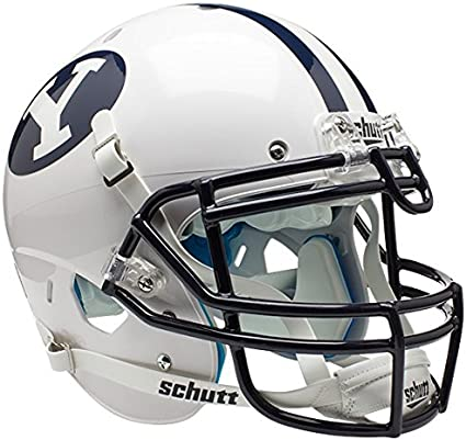 Schutt NCAA BYU Cougars Mini Authentic XP Football Helmet