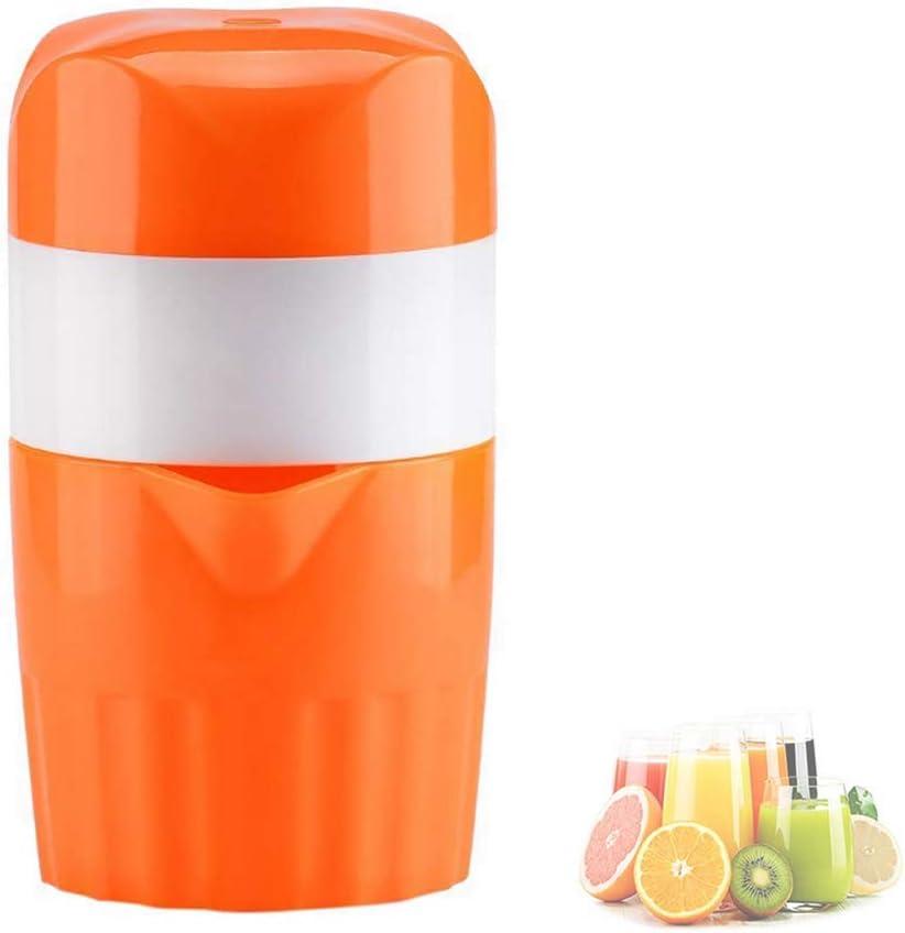 ZXGQF Exprimidor manual de mano portátil Exprimidor de cítricos de limón y naranja Exprimidor de jugo de mano Extractor de jugo orgánico Mini fabricante de jugo para barra familiar