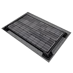 Instapark SP Series Mono-crystalline Photovoltaic PV Solar Panel (Charge Controller NOT Included, 100 Watts)