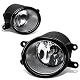 For Toyota Yaris/RAV4/Camry Pair of Bumper Driving Fog Lights (Clear Lens)