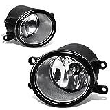 2007 toyota camry halo fog lights - Toyota Yaris/RAV4/Camry Pair of Bumper Driving Fog Lights (Clear Lens)