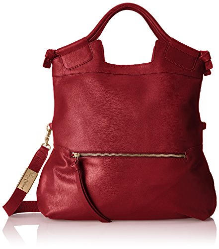 Foley + Corinna Mid City Tote Cross Body Bag, Rouge, One Size (Foley Corinna Handbags Mid City Tote)