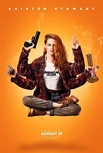 American Ultra Movie Poster 27 x 40 Style E 2015 - Style Kristen Stewart