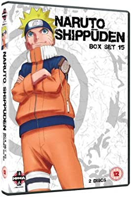 Naruto Shippuden Box 15 Episodes 180-192 DVD by Chie ...