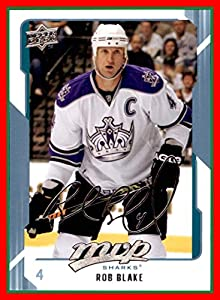 2008-09 Upper Deck MVP #239 Rob Blake KINGS SHARKS